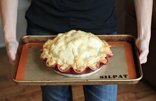 Recipe – The Long Winter Green Pumpkin Apple Pie