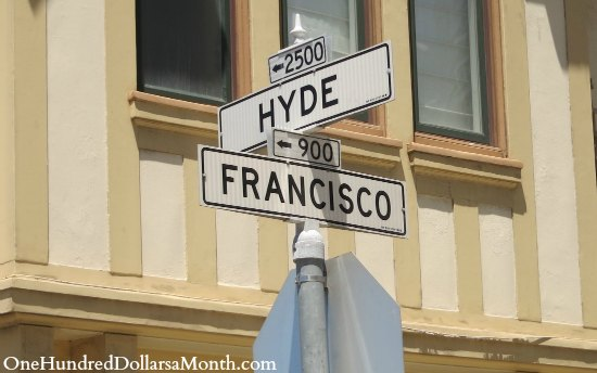 san francisco street signs