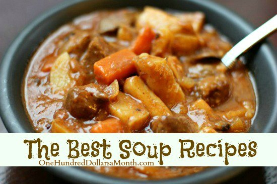 Recipes: The Best Soup Recipes