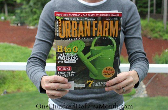 1 Year Subscription to Urban Farm Magazine Only $8.99!