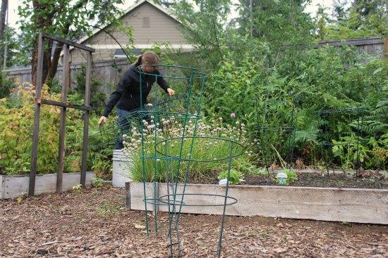 Shocking News – Girly Girl Pulls Weeds in Her Own Garden