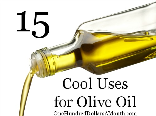 15 Cool Uses for Olive Oil
