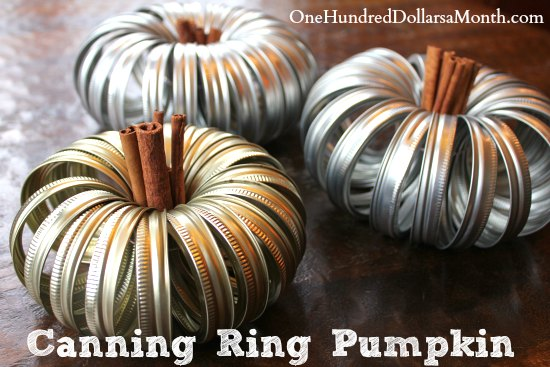Canning Ring Pumpkin