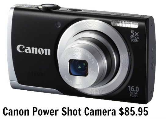 Canon Power Shot Camera