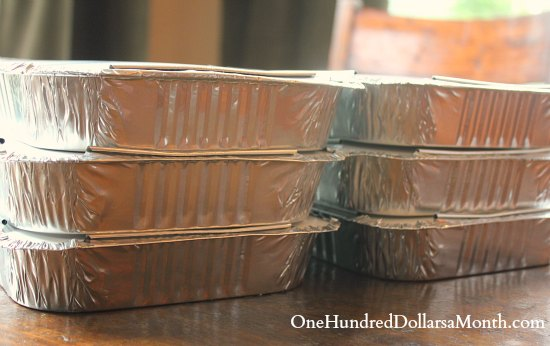 Easy Freezer Meals – Peach Crisp