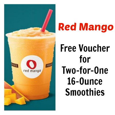 Free Voucher for Two-for-One 16-Ounce Smoothies