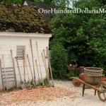Gardens of Homes of Colonial Williamsburg, Va