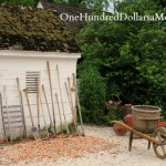 Gardens of Homes of Colonial Williamsburg, Va