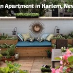 Garden Apartment in Harlem, New York