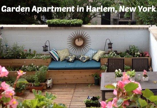 Garden Apartment in Harlem, New York