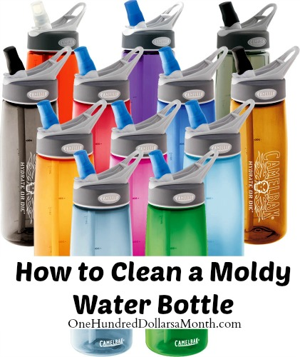 how to clean sports watter bottle