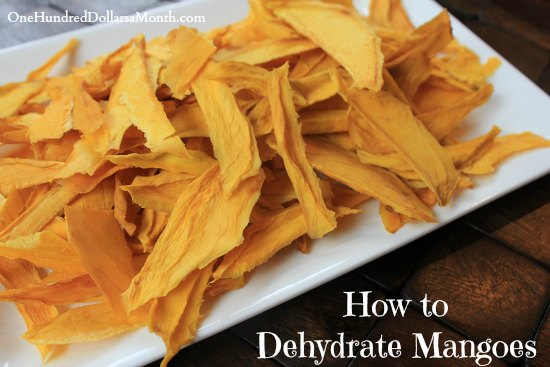 How to Dehydrate Mangoes