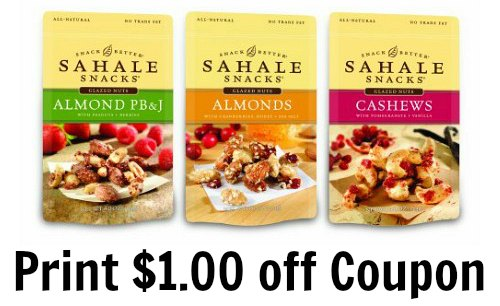 Sahale Snacks Coupon