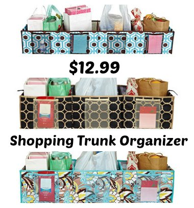 Shopping Trunk Organizer