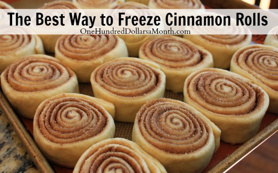 The Best Way to Freeze Cinnamon Rolls + Recipe