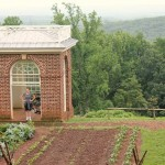 Thomas Jefferson's Monticello garden