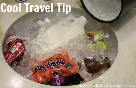 Travel Tip – Convert Your Hotel Sink into a Makeshift Cooler
