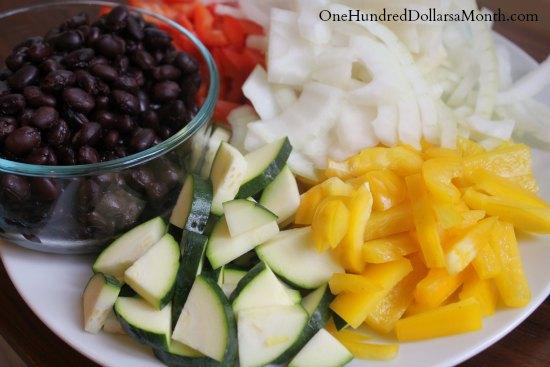 Vegan Friendly Black Bean Fajitas