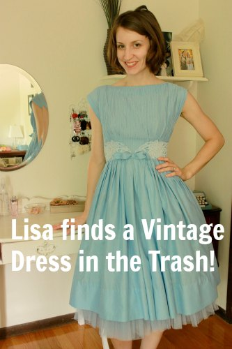 One Man's Trash is Another Man's Treasure – Lisa's Vintage Dresses
