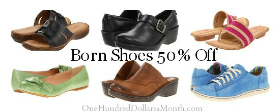 born shoe sale coupons