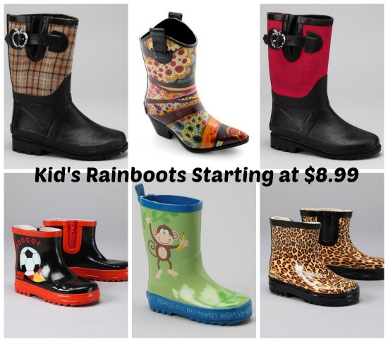 children's rainboots