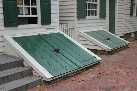 Homes of Colonial Williamsburg, Va