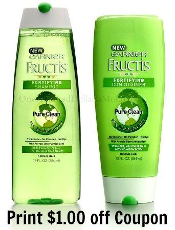 garnier-fructis-pure-clean-shampoo-conditioner coupon