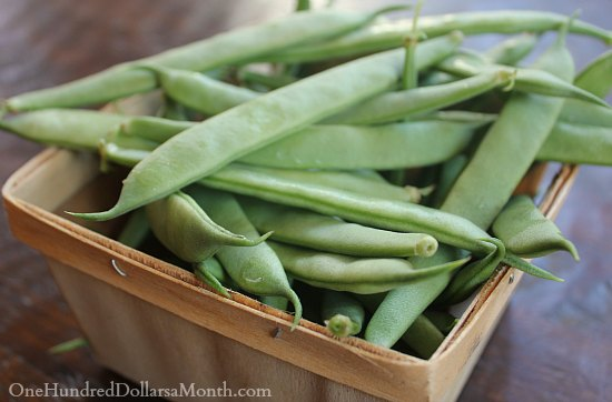 Green Beans with Toasted Almonds Recipe