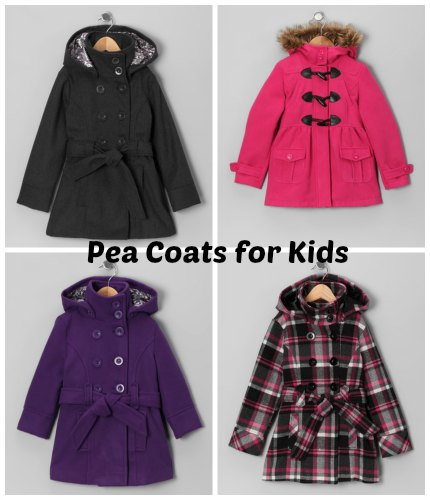 pea coats for girls
