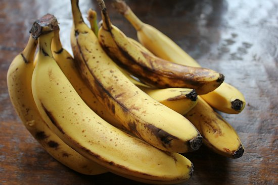 spotted bananas
