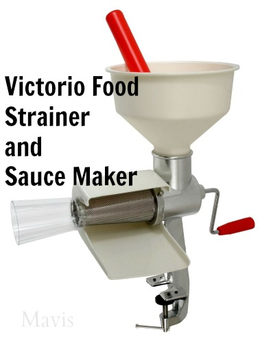 victorio food strainer
