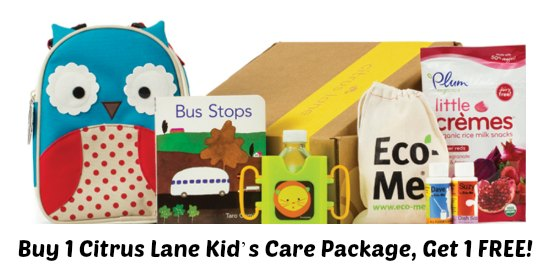 Buy 1 Citrus Lane Kid's Care Package, Get 1 FREE!