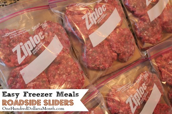 Easy Freezer Meals - Roadside Sliders Recipe