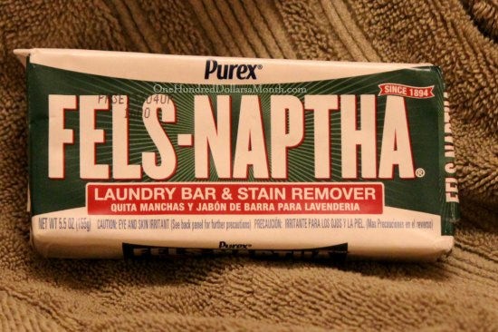Fels Naptha Laundry Bar