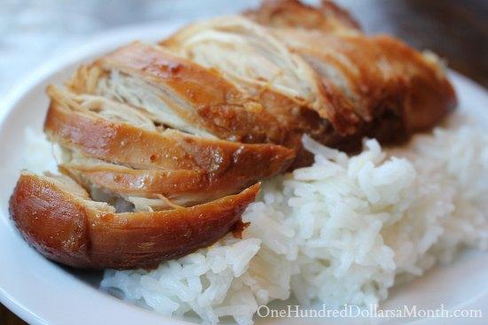 Freezer Meals - Teriyaki Chicken
