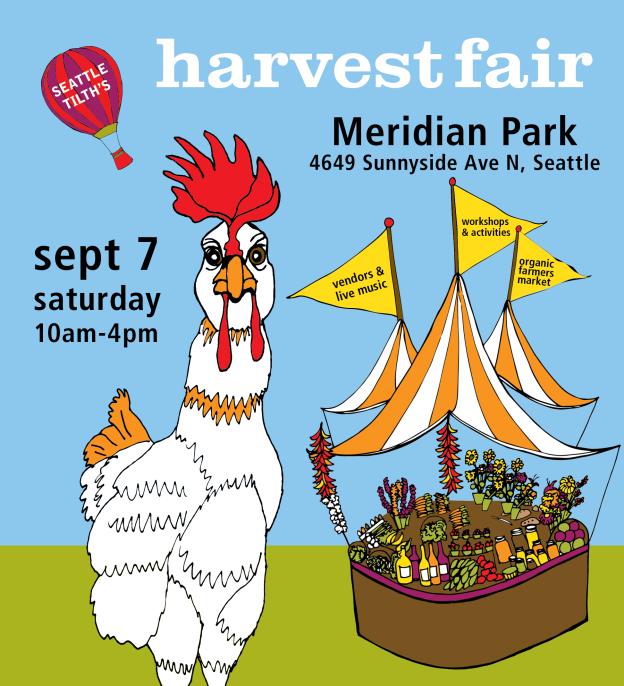 Seattle Tilth Harvest Fair September 7th, 2013