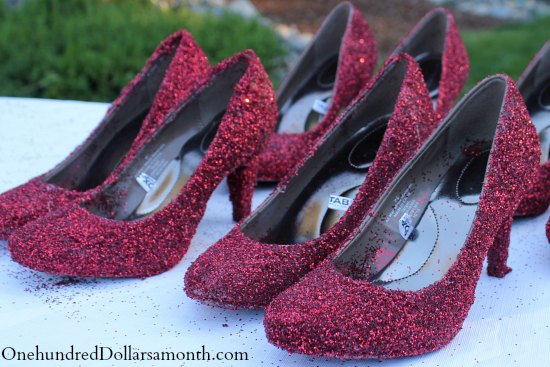 How to Make Ruby Red Slippers