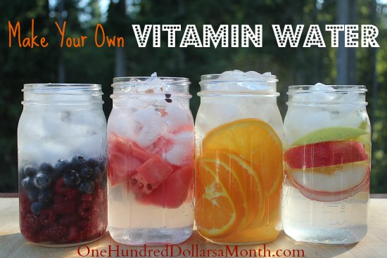 Make Your Own Vitamin Water