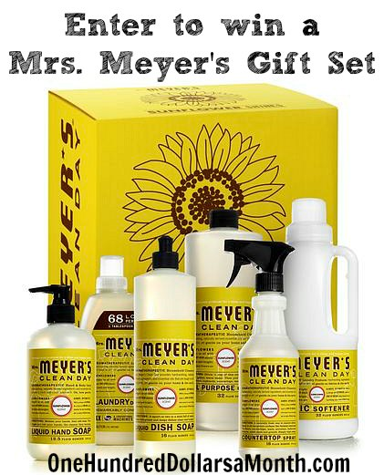 Giveaway – Enter to Win One of {2} Mrs. Meyer's Clean Day Sunflower Gift Sets!