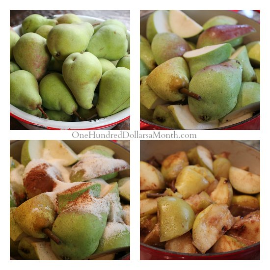 Pear Butter Recipe – Canning 101