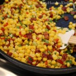 Savory Corn Cobbler with Bacon