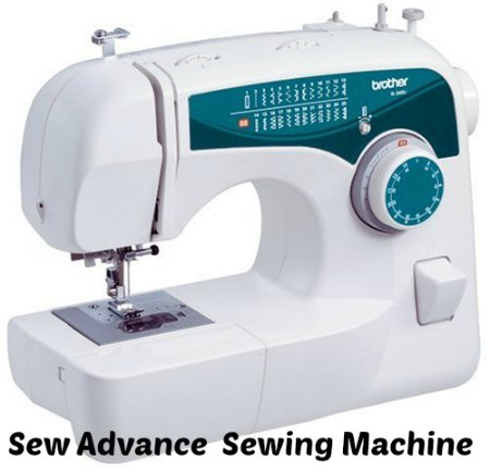 Sew Advance Sew Affordable 25-Stitch Free-Arm Sewing Machine