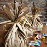 Witchs Broom Paper Bag Party Favors