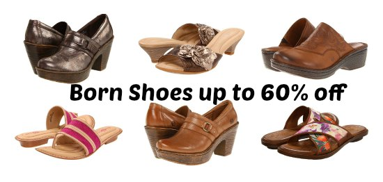 born shoes coupon