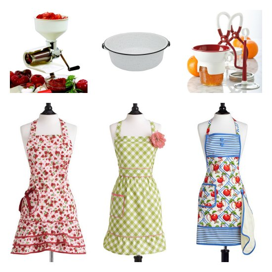 canning aprons