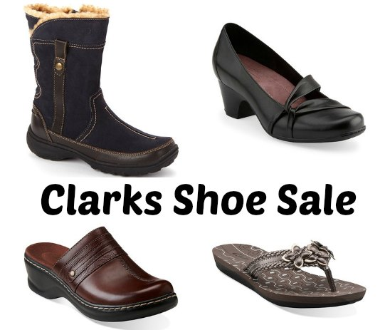 Discount Shop Clarks Coffee Cake Leather Flat Shoes - Womens Shoes & Boots - Womens Footwear