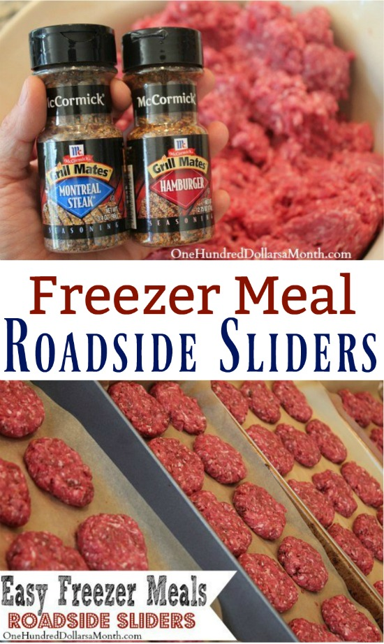 Easy Freezer Meals – Roadside Sliders Recipe