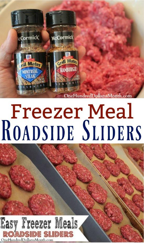 Easy Freezer Meals – Roadside Sliders Recipe