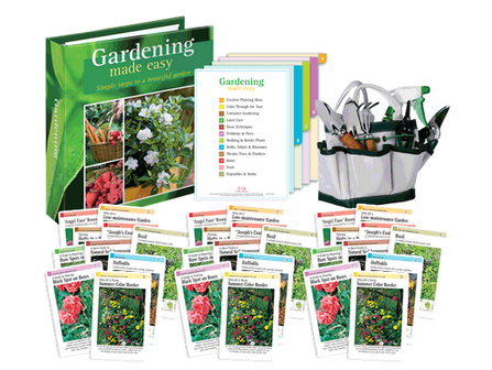 Gardening Made Easy Card Set Only $5.95 + Get a FREE 7-Piece Gardening Tool Set!