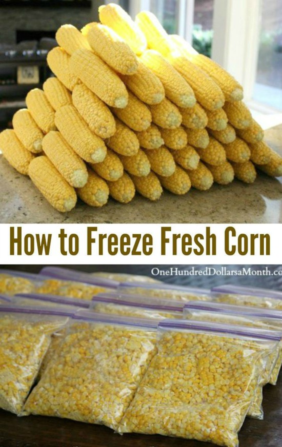 How to Freeze Fresh Corn